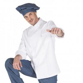 Chaqueta chef blanca m. larga