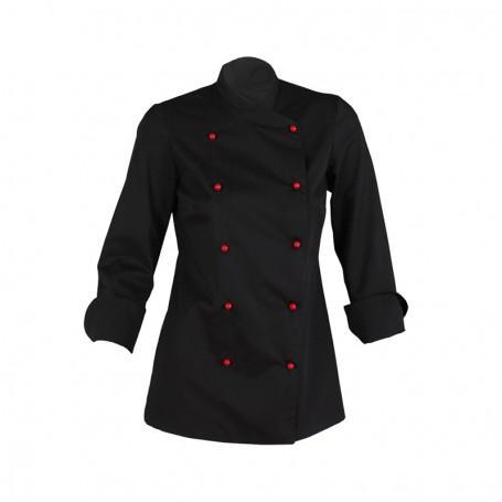 Chaqueta chef Moderna Niza con botones en color