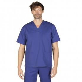Blusa Sanitaria de pico con bolsillo