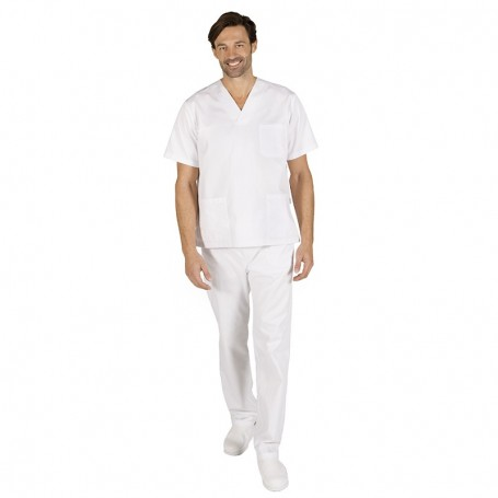 Conjunto blanco pantalón goma