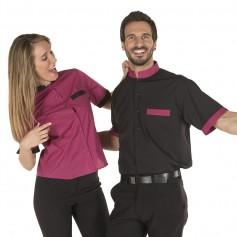 Camisa mao mangas cortas mujer 2 colores