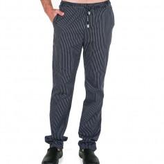 Pantalón algodón rayas