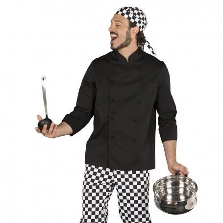 Chaqueta cocina manga larga