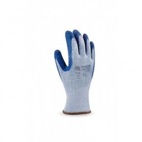 Pack 12 guante economico de látex y puño elástico.