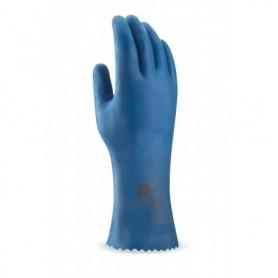 Pack 12 guante tipo doméstico de látex para riesgos químicos y microorganismos
