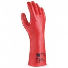 Pack 12 guante largo de PVC para riesgos mecánicos, químicos y microorganismos