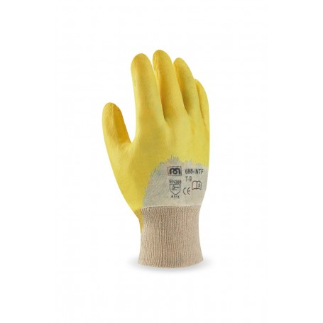 Pack 12 guante Nitrilo flexible.