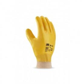Pack 12 guante Nitrilo flexible y puño elástico.