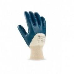 Pack 12 guante Nitrilo para alimentación con soporte y antiabrasión