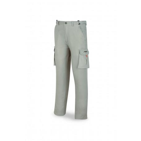 Pantalón de trabajo elástico en algodón