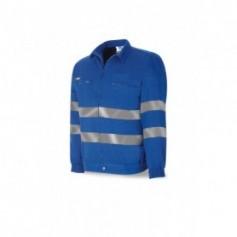 Cazadora azulina algodón 245 g
