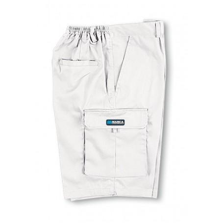Bermuda multibolsillos algodón
