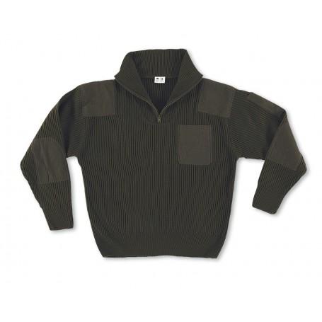 Jersey cuello cremallera 750 g 100 acrílico