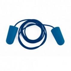 Tapón auditivo detectable desechable con cordón CAJA 200 UNIDADES
