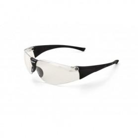 Gafa de ocular claro, con patillas y puente nasal flexible