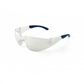Gafa transparente ocular unilente envolvente para riesgos mecánicos