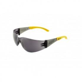 Gafa de ocular unilente envolvente y patillas flexibles