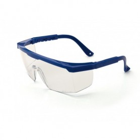 Gafa de ocular panorámico, con patillas regulables en longitud
