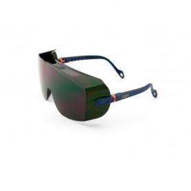 Gafa tipo visita-cubre-gafas de ocular panorámico policarbonato