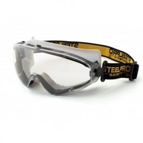 Gafa Integral panorámica ocular para riesgos mecánicos. PVC