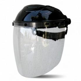 Visor para soldar y proteger de riesgos mecánicos en policarbonato de 2,25 mm