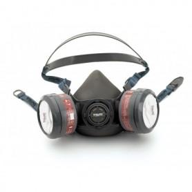Media mascara para dos filtros