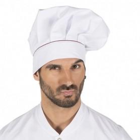 Gorro gran chef velcro ribeteado