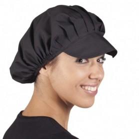 Gorra Popelín Negra