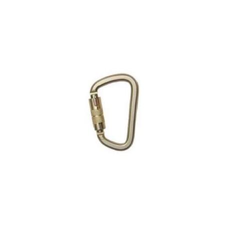 Mosquetón de acero cincado AA017T