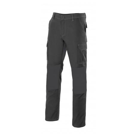 Pantalón con refuerzos bicolor en rodillas y entrepierna