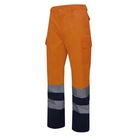 Pantalón bicolor alta visibilidad / Amarillo o Naranja