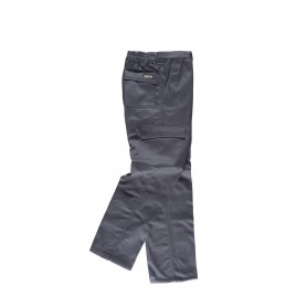 Pantalón multibolsos con tejido polar en interior.B1408