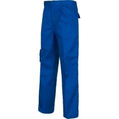 Pantalón con elástico y multibolsillos triple costura.B1409