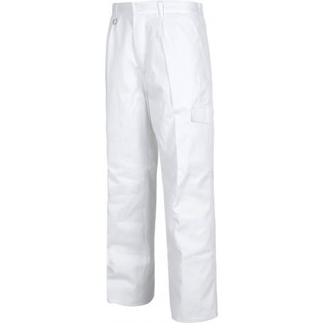 Pantalón acolchado con cintura elástica y un bolso en pernera.B1410