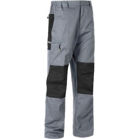 Pantalón combinado rodilleras y culera a contraste.B1411