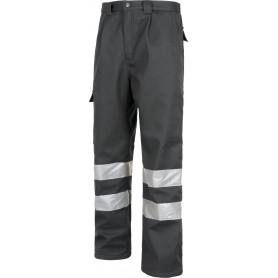 Pantalón multibolsos con tejido polar en interior, 2 cintas reflectantes.B1417