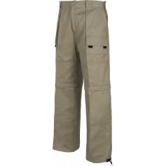 Pantalón con perneras desmontables, cintura elástica y multibolsillos.B1420