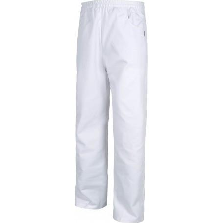 Pantalón con elástico en cintura, sin bragueta y con 2 bolsillos laterales.B1427
