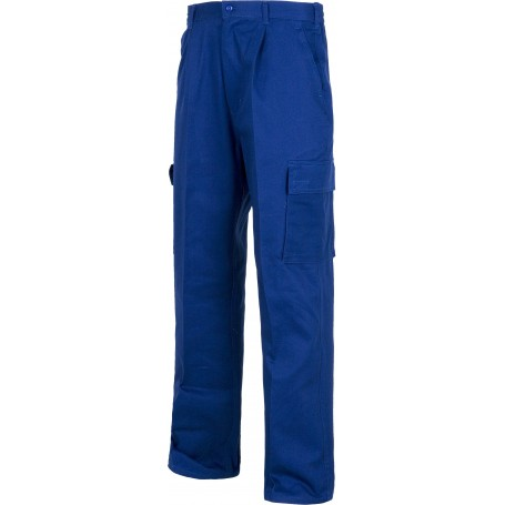 Pantalón con cintura elástica, multibolsillos. 100% Algodón.B1456
