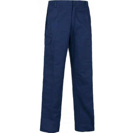 Pantalón con cintura elástica, multibolsillos. 100% Algodón.B1457