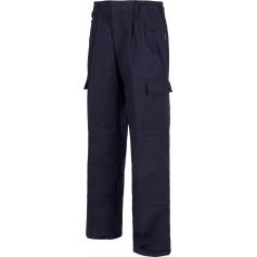 Pantalón ignífugo multibolsillos. 100% Algodón. CERTIFICADO IGNIFUGO EN11612.B1490