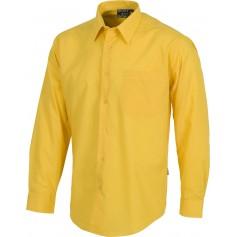 Camisa de manga larga con un bolso de pecho.B8000