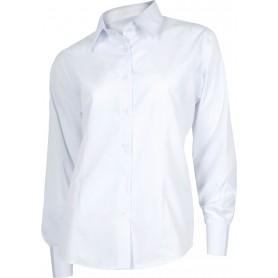 Blusa entallada manga larga sin bolsillos.B8090