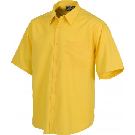 Camisa de manga corta con un bolso de pecho.B8100