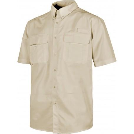 Camisa Safari manga corta multibolsillos.B8510