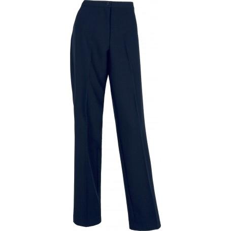 Pantalón de mujer con cinturilla y con pinzas.B9016