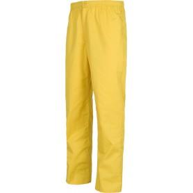Pantalón sanitario con cintura elástica, bragueta de cremallera, sin bolsillos.B9300