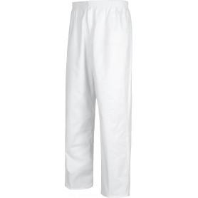 Pantalón sanitario cintura elástica, bragueta cremallera, sin bolsillos, 100% Algodón.B9311
