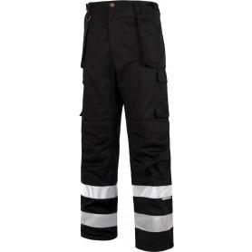 Pantalón multibolsillos con cintas reflectantes de diferentes tamaños.C2911