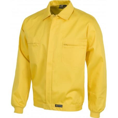 Cazadora con cremalleras de nylon, cintura elástica y dos bolsos de pecho.B1102